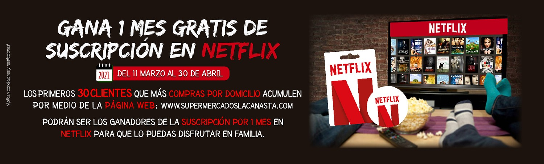 Gana un mes de Netflix